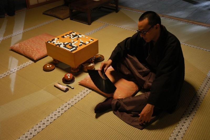 Una scena del film The Go Master