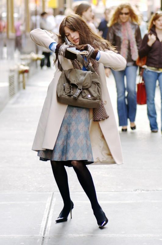 Anne Hathaway è la protagonista de Il Diavolo veste Prada