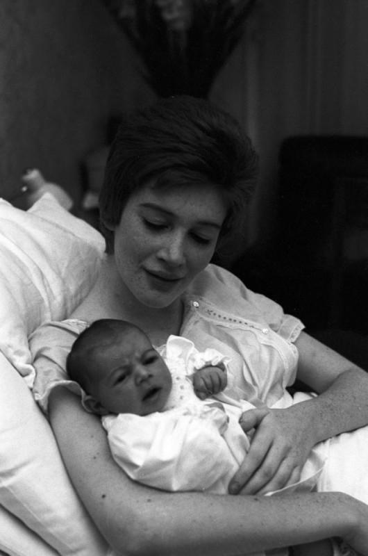 Carla Gravina con la figlia Giovanna