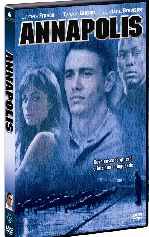 La copertina DVD di Annapolis