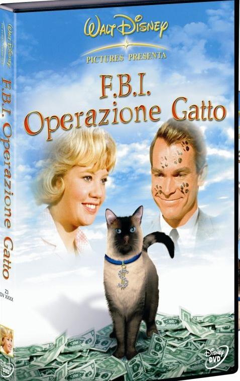 La copertina DVD di F.B.I. Operazione Gatto