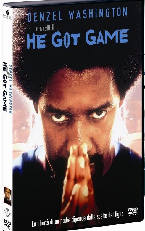 La copertina DVD di He Got Game
