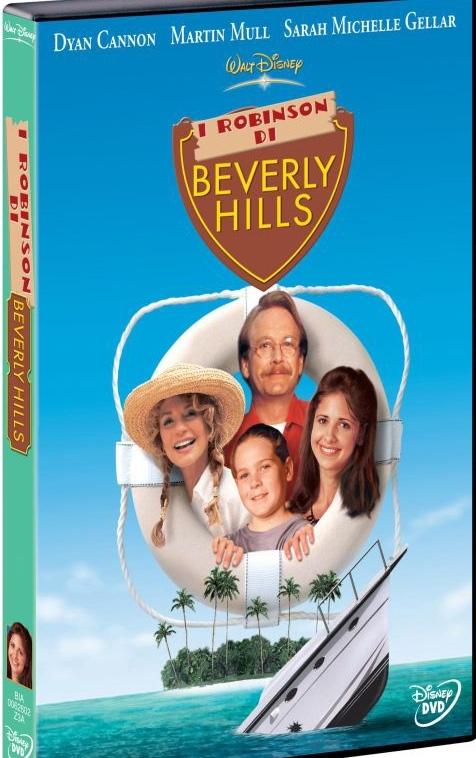 La copertina DVD di I Robinson di Beverly Hills