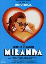 La copertina DVD di Miranda - Director's cut