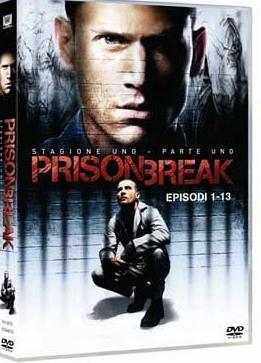 La copertina DVD di Prison Break - Stagione 1 Parte prima