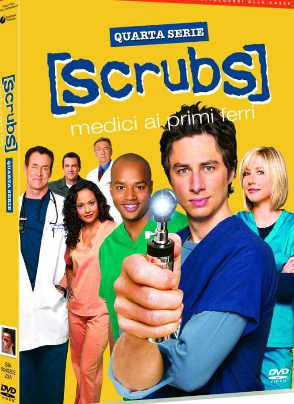 La copertina DVD di Scrubs - Quarta serie