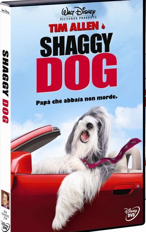 La copertina DVD di Shaggy Dog - Papà che abbaia... non morde