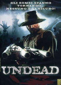La copertina DVD di Undead