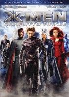 La copertina DVD di X-Men: Conflitto Finale - Edizione speciale