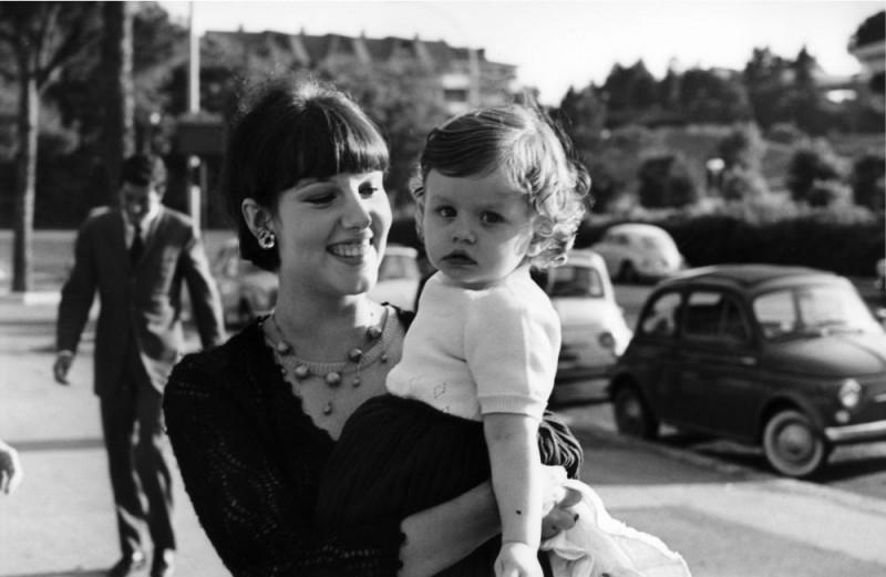 Stefania Sandrelli con la figlia Amanda