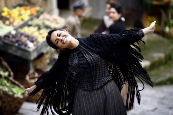 Bianca Guaccero nella fiction televisiva Assunta Spina