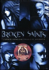 La copertina DVD di Broken Saints