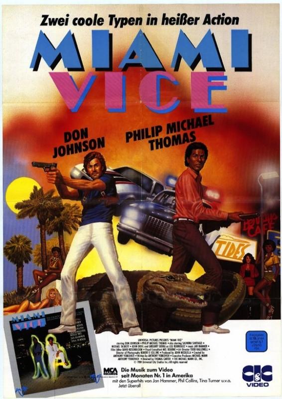 La locandina di Miami Vice