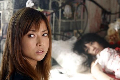 Una scena del film Akumu Tantei