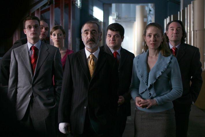 Una scena del film Offset
