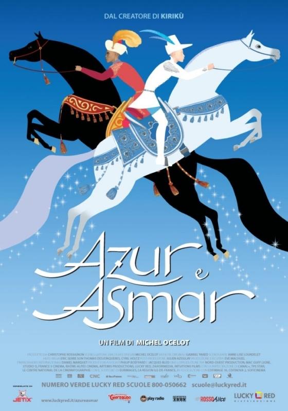 La locandina di Azur e Asmar