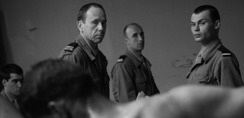 Olivier Gourmet e Robinson Stévenin in una scena del film Mon Colonel