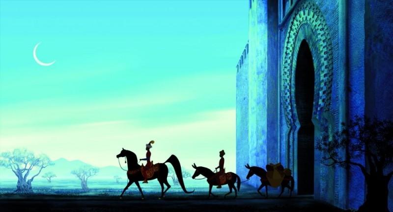 Azur e Asmar: una scena