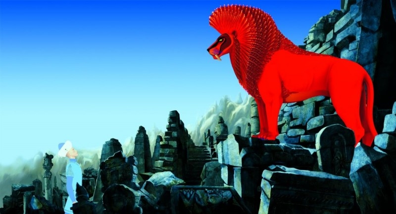 Azur e Asmar: una immagine della pellicola