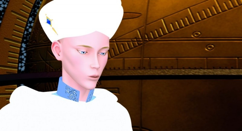 Azur e Asmar: una scena del film