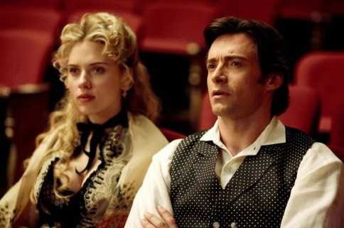 Hugh Jackman e Scarlett Johansson in 'The Prestige'