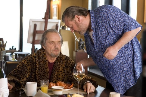 Jack Nicholson con Ray Winstone in The Departed