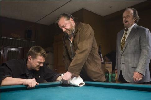 Leonardo DiCaprio, Jack Nicholson e Ray Winstone in The Departed