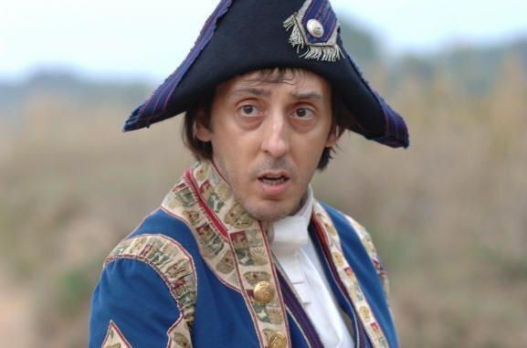 Massimo Ceccherini in una scena del film N (Io e Napoleone)
