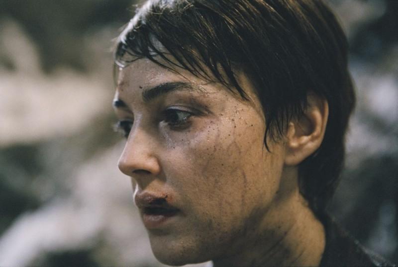 Monica Bellucci in una scena del film Le Concille de Pierre
