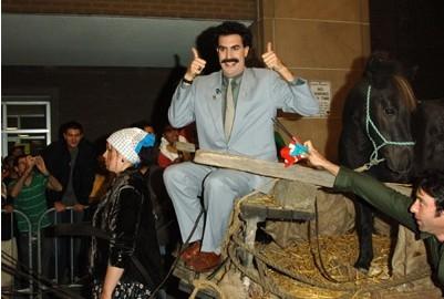 Sacha Baron Cohen è 'Borat'