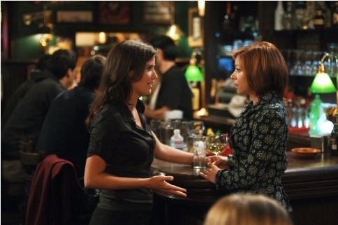 Cobie Smulders ed Alyson Hannigan in 'How I Met Your Mother'