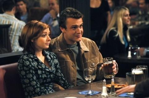 Jason Segel ed Alyson Hannigan in 'How I Met Your Mother'