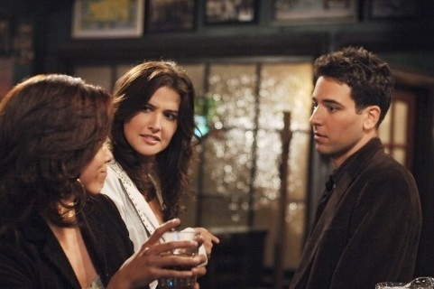 Josh Radnor e Cobie Smulders in 'How I Met Your Mother'