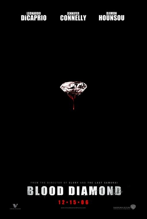 Il teaser poster di Blood Diamond