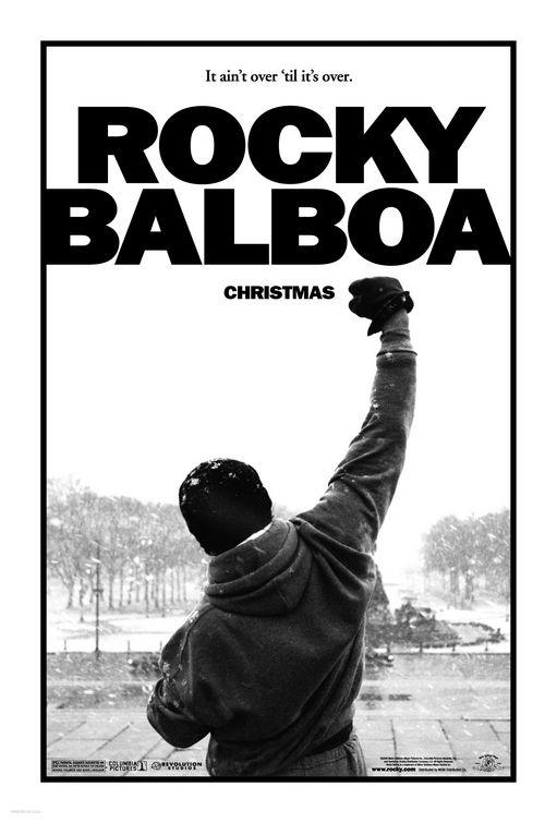 La locandina di Rocky Balboa