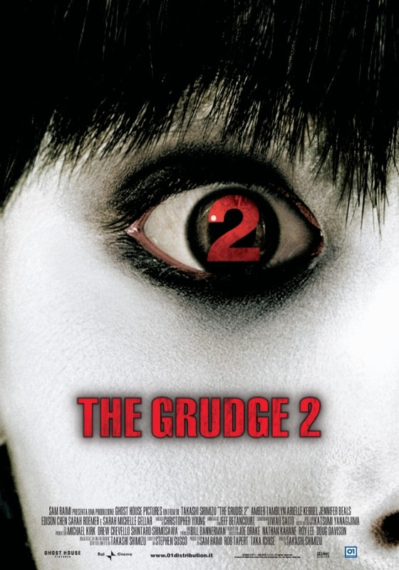 La locandina italiana di The Grudge 2