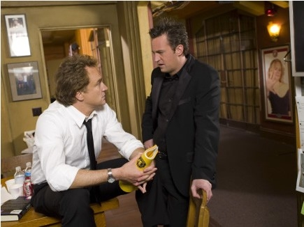 Matthew Perry e Bradley Whitford in 'Studio 60'