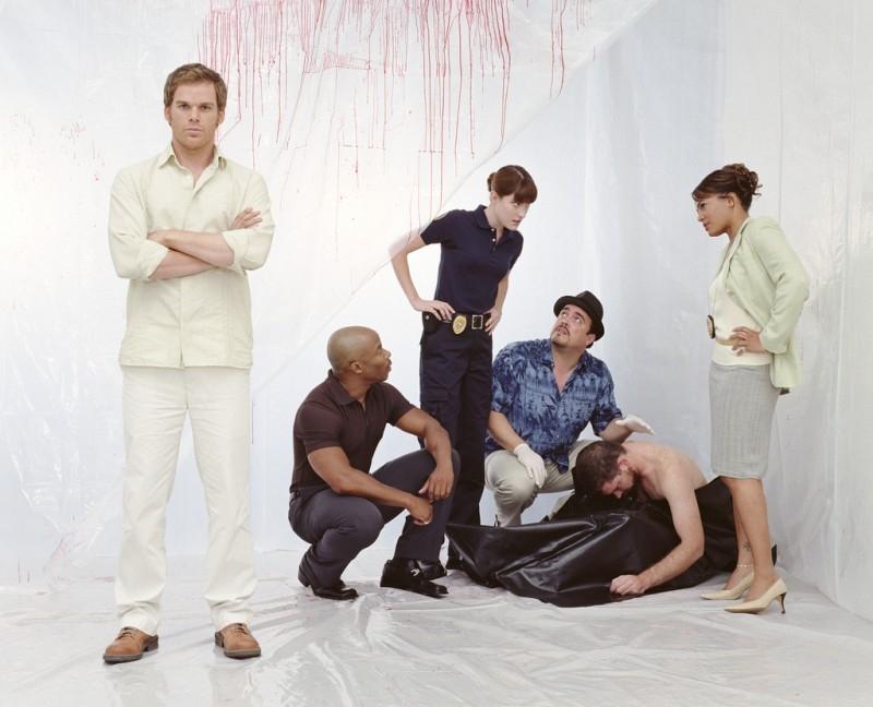 Un'immagine promozionale di 'Dexter'