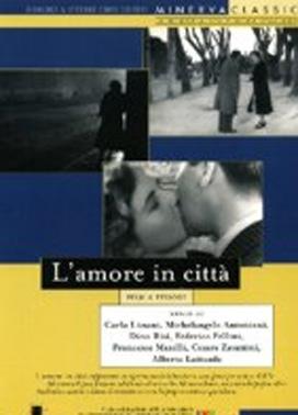 La copertina DVD di Amore in città