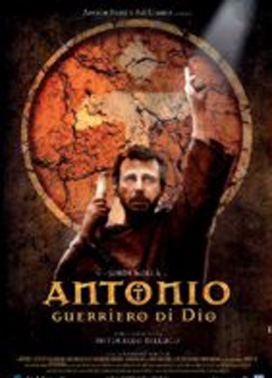 La copertina DVD di Antonio, guerriero di Dio