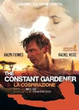 La copertina DVD di The Constant Gardener