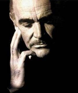 l'attore Sean Connery
