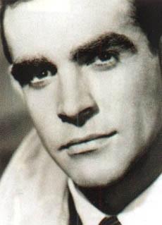 un giovanissimo Sean Connery