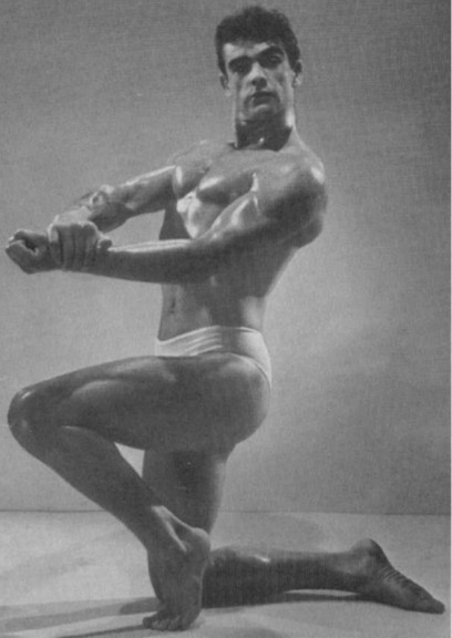 Sean Connery ai tempi in cui concorreva per il titolo di Mister Universo, nel 1950