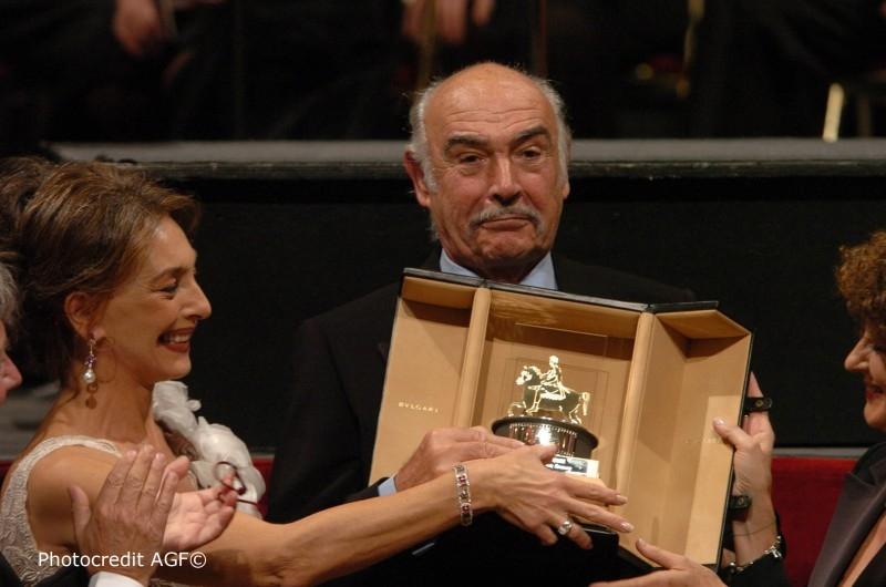 Sean Connery premiato alla festa del Cinema di Roma 2006