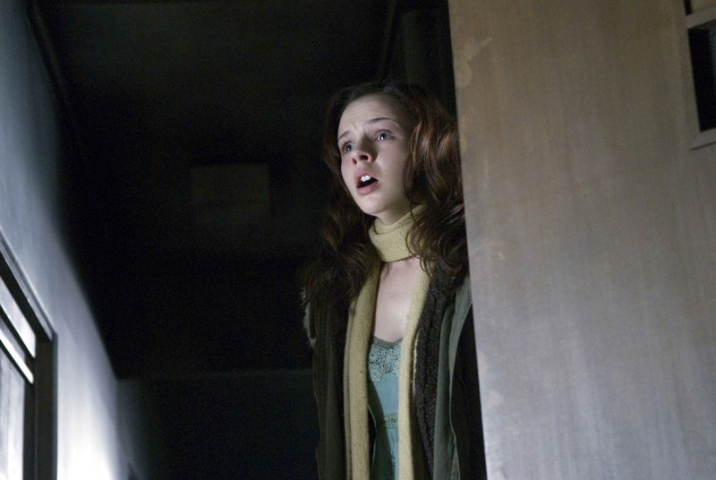 Amber Tamblyn in una scena del film The Grudge 2