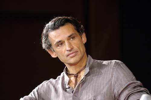Enrico Lo Verso a Roma per il film 'Alatriste'