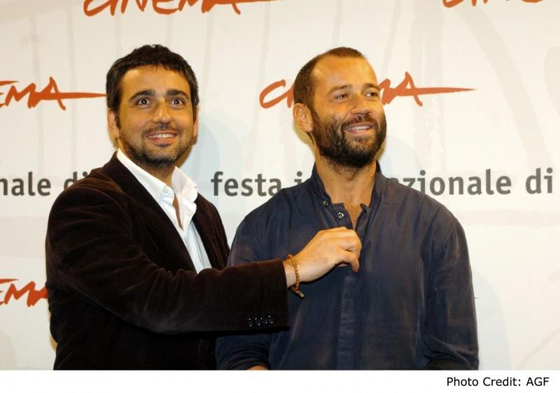 Eugenio Cappuccio e Fabio Volo a Roma per presentare il film 'Uno su due'