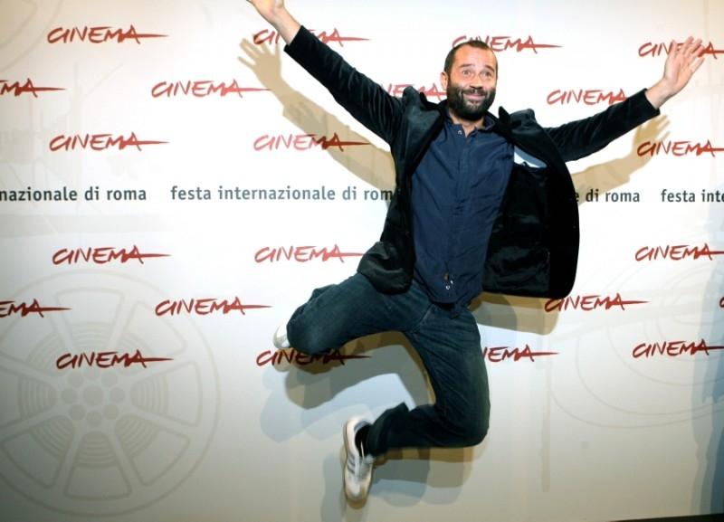 Fabio Volo a Roma per presentare il film Uno su due