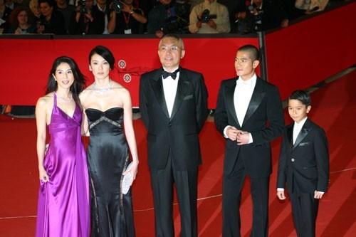 Il cast di 'Fu Zi' sul red carpet a Roma